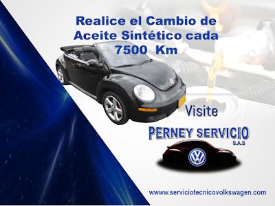 Servicio Tecnico Volkswagen Cambio de Aceite