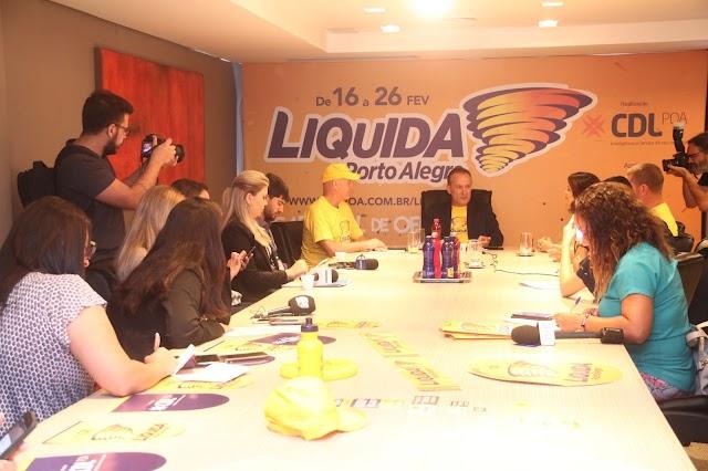 Liquida Porto Alegre 2018, realizado pela CDL POA, tem recorde na adesão de lojistas