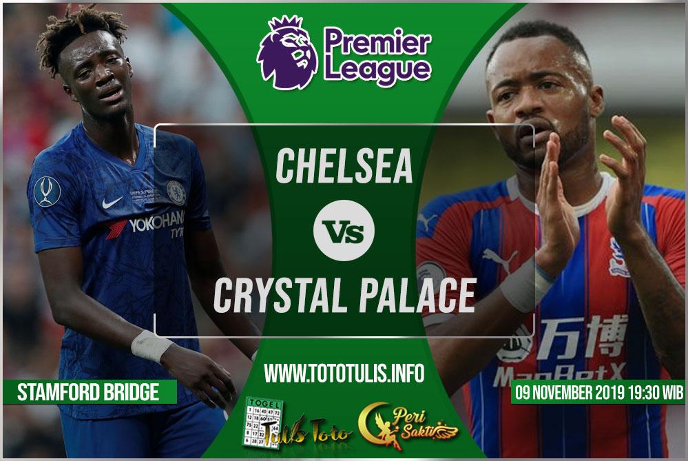 Prediksi Chelsea vs Crystal Palace 09 November 2019