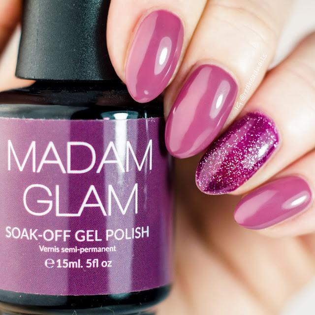 Madam Glam Chic Madame & Indigo Splash