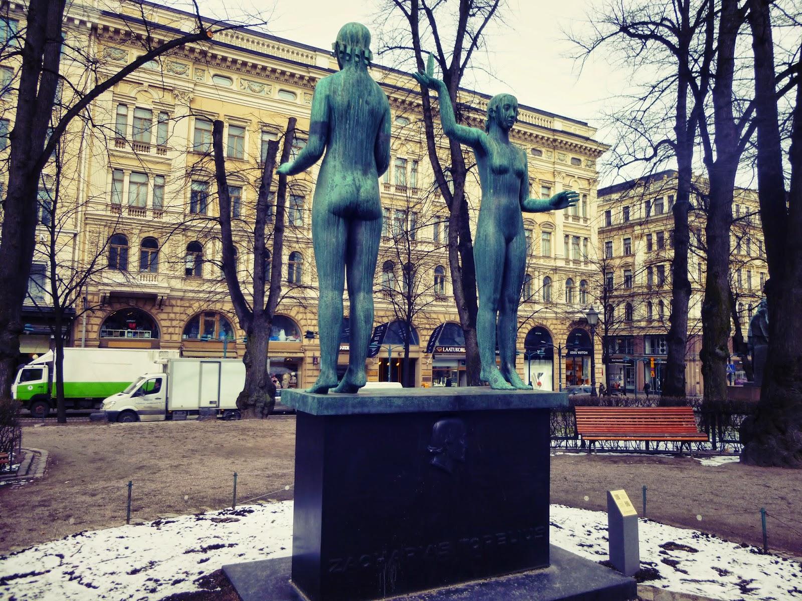 helsinki statues