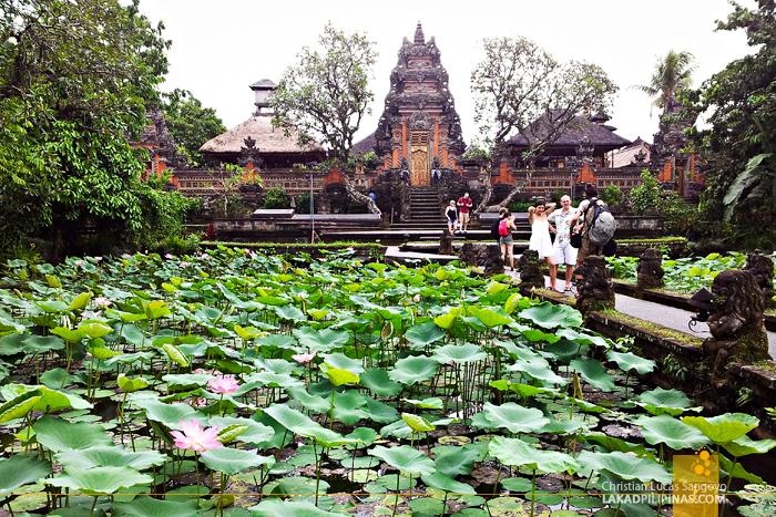 Bali Temples List Taman Saraswati
