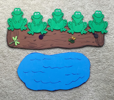 Adventures In Storytime (and Beyond): Five Green ...
