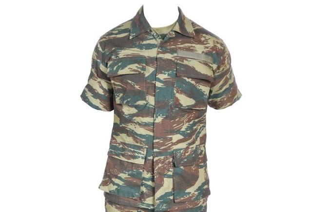 Αναπροσαρμογή θερινής στολής υπ' αριθμ. 9 (Ασκήσεων-Εκστρατείας) και διακριτικών βαθμού υπαξιωματικών (ΕΓΓΡΑΦΟ)