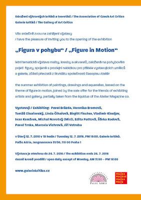 Figura v pohybu, 2.7.-24.7.2016, Galerie kritiků, Palác Adria, Praha