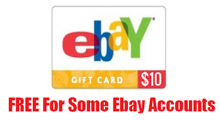 Coupons And Freebies: Free $10 eBay Gift Card For eBay Members ...