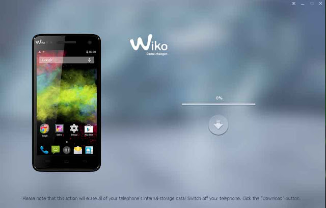flash wiko rainbow