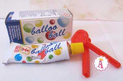 Тюбик с мыльными пузырями Balloo Balls Dulcop