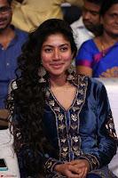 Beautiful Cute Sai Pallavi in dark Blue dress at Fidaa music launch  Exclusive Celebrities galleries 001.JPG