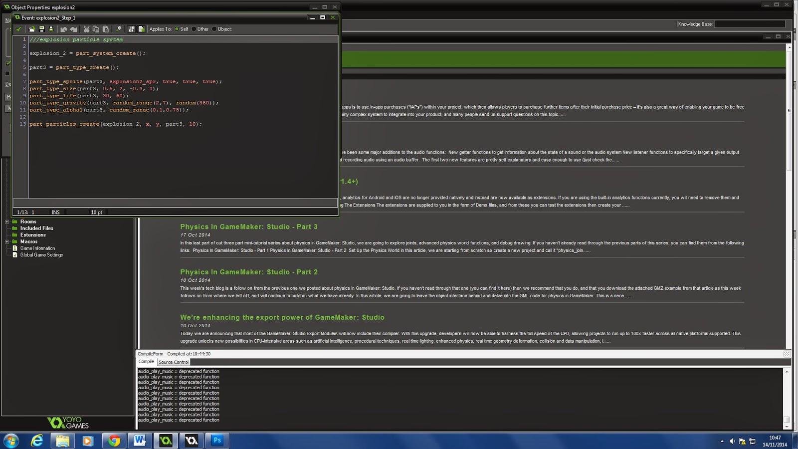 Adam Copeland Unit 70 IG/JE1 Games Engines: Using a 2D Engine