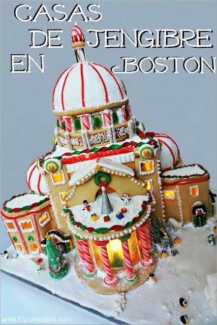 Competición Anual de Diseños de Casas de Jengibre en Boston 2017