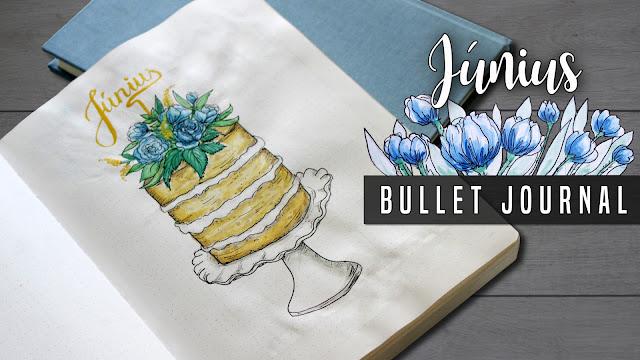 JUNE 2018 BULLET JOURNAL - JÚNIUS