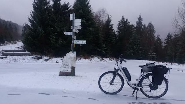 EBike im Schnee