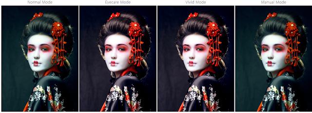 mode warna layar ASUS ZenBook UX410UQ