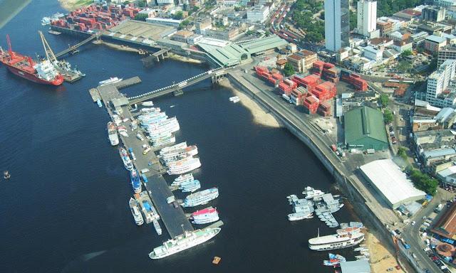 Manaus, maior porto flutuante do mundo