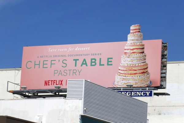 Chefs Table Pastry Netflix series billboard