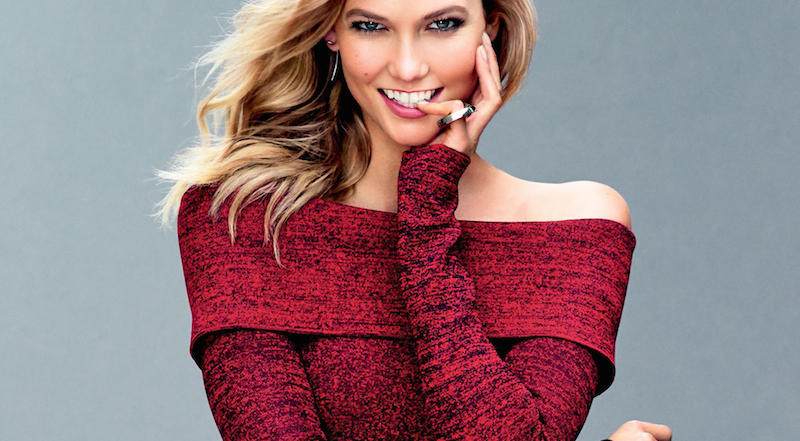 karlie kloss by tom munro for us glamour september 2015