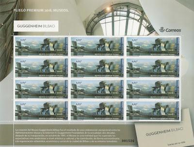 Pliego Premium del museo Guggenheim de Bilbao