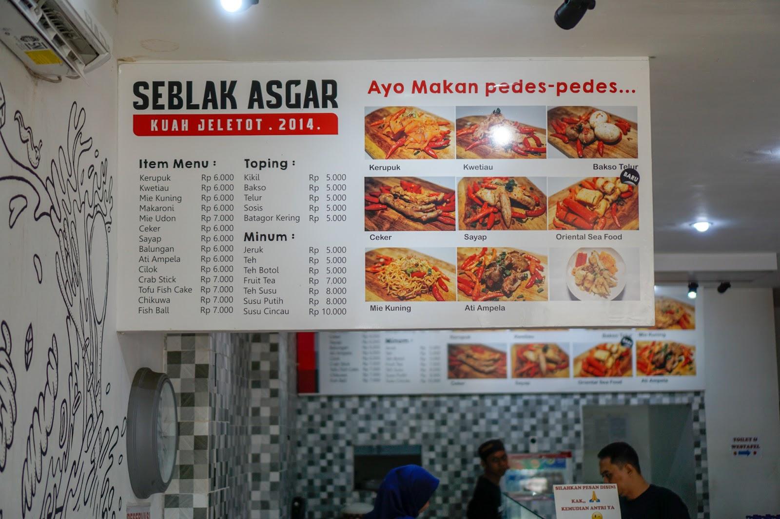 Seblak Asgar Sensasi Pedas Kuliner Garut Di Yogyakarta Ardian Kusuma