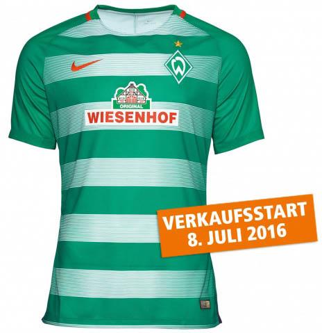 Trikot Werder Bremen 16 17