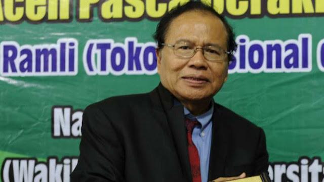 Respons Rizal Ramli soal Somasi Nasdem