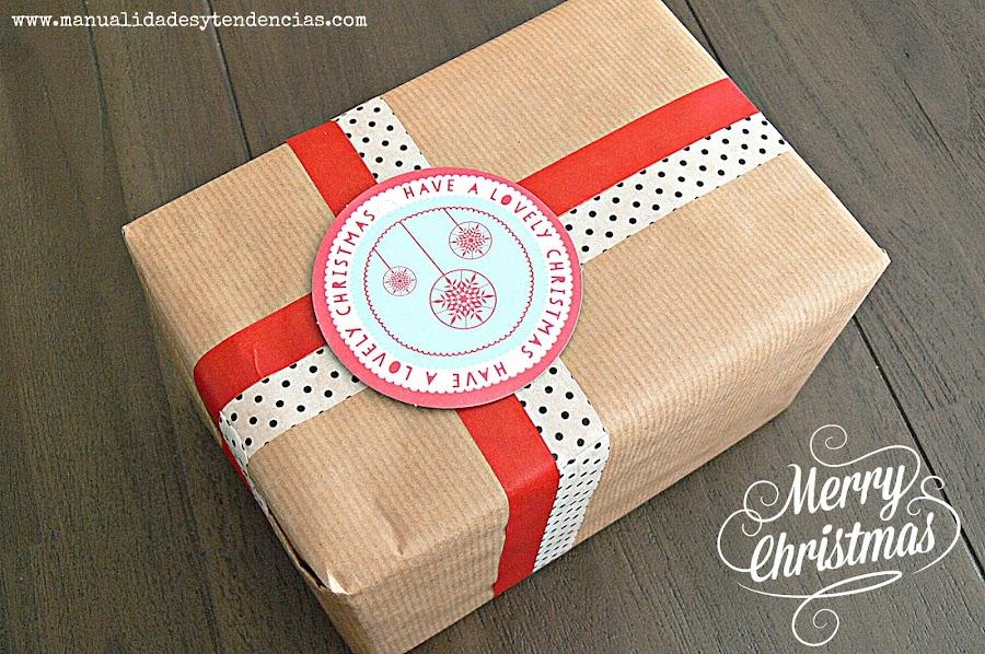 Paquete de regalo bonito y fácil