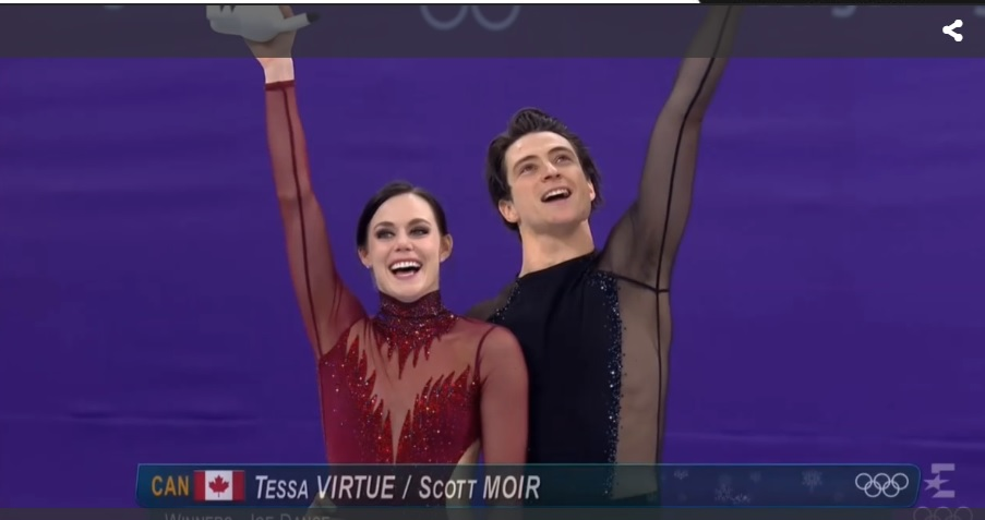 Jessica Dube Loves Scott Moir