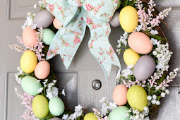 19 Spectacular DIY Easter Wreath Ideas That You Can Make