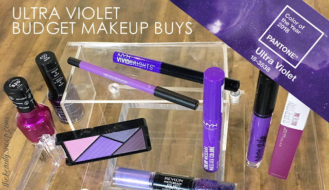 WILL YOU BE WEARING THE COLOR OF THE YEAR? // ULTRA VIOLET BEAUTY