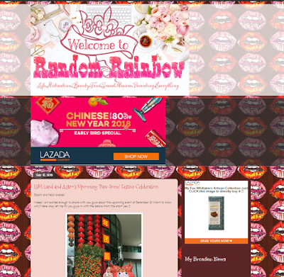 REVIEW BLOG RANDOM RAINBOW