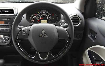 Model Interior Mitsubishi Mirage