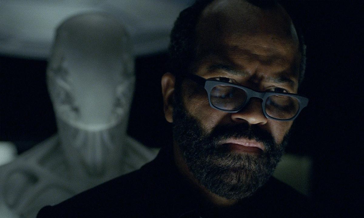 Fotografía de Bernard (Jeffrey Wright) en la segunda temporada de 'Westworld'