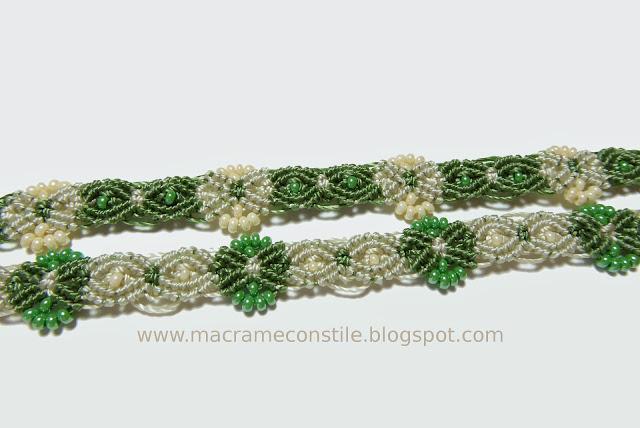 bracciali gemelli verdi particolare