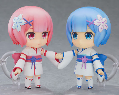 "Nendoroid Ram & Rem: Childhood Ver. de ""Fate / Grand Order"" - Good Smile Company"