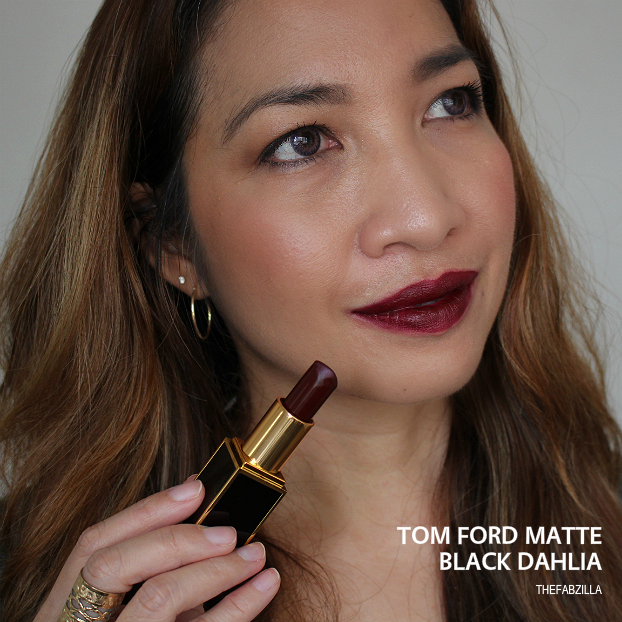 tom ford lip color matte black dahlia