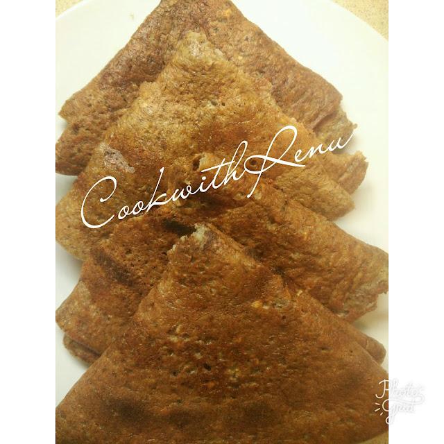 Mix Lentils and Beans Chila/Dosa/Pancake