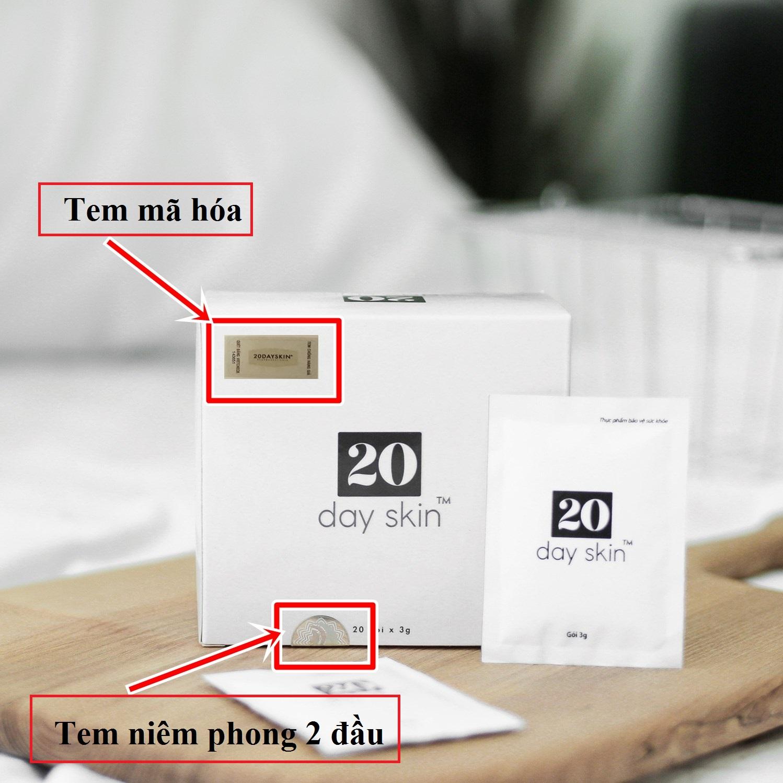 20 days skin lừa đảo
