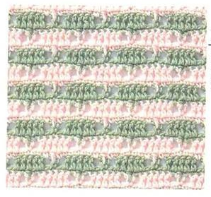 Patrón #823:Punto Tupido a Crochet