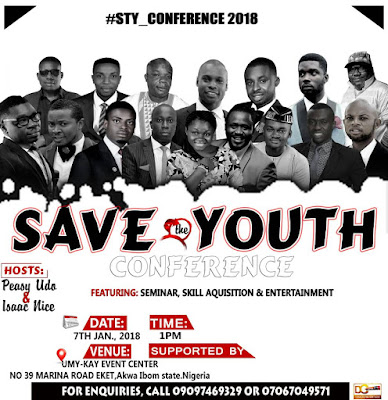 Young Entrepreneurs in Akwa Ibom Commence 2018 with 'Save The Youth' Conference