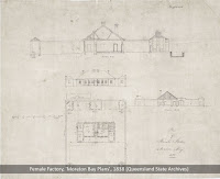 Plan of the Female Factory, Moreton Bay Penal Settlement, 1838.