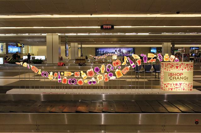 pengambilan bagasi bandara changi