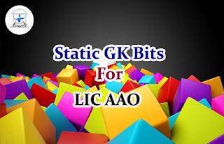 Static GK Bits for LIC AAO Set-3