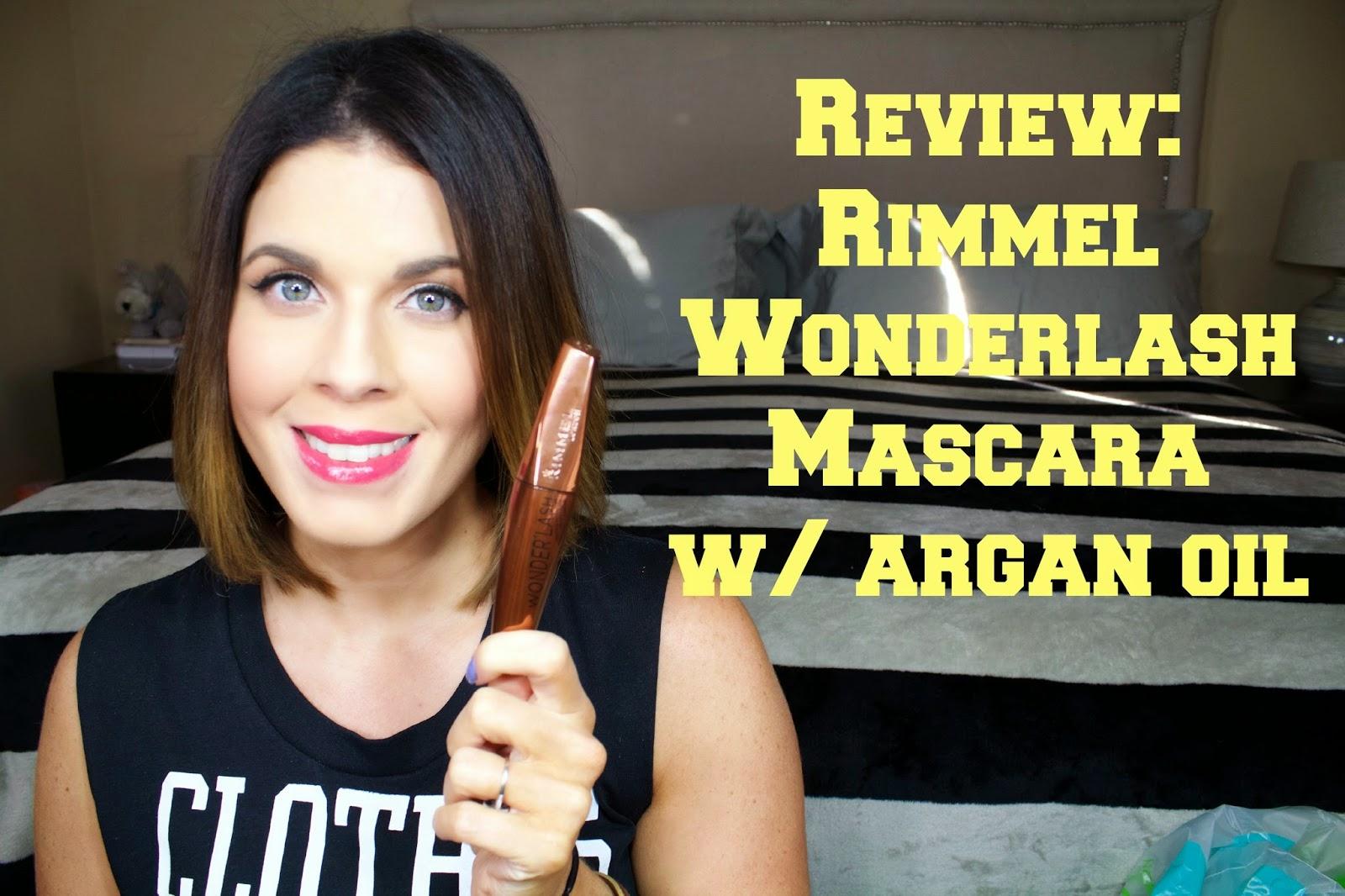 5d36cda5890 Review | Rimmel Wonder'Lash Mascara with Argan Oil ...