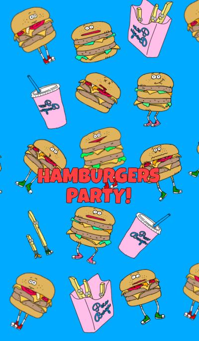 HAMBURGERS PARTY! Part3!(English)