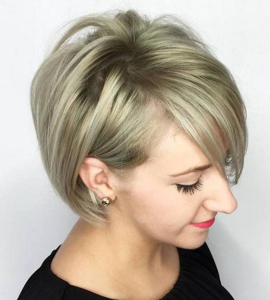 Model rambut pendek untuk rambut tipis 2017