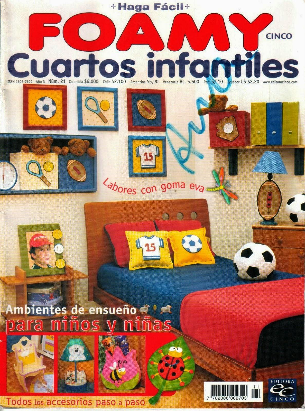 decorar cuartos infantiles con foamy - Revistas de Foamy gratis