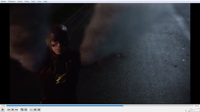 the flash membuat tornado