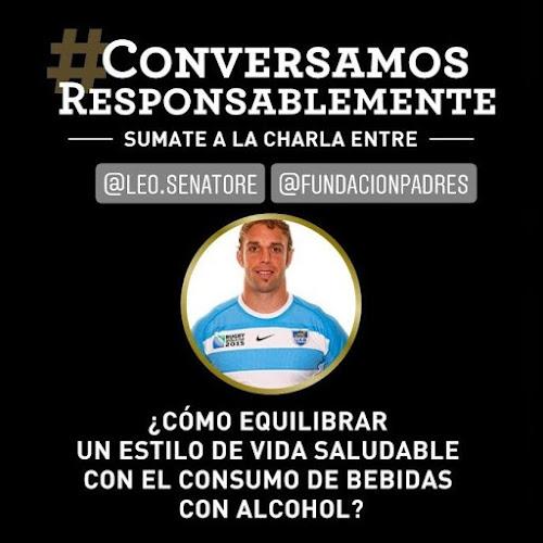 #ConversamosResponsablemente con Leo Senatore
