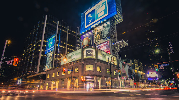 Wallpaper: Night Life in Toronto