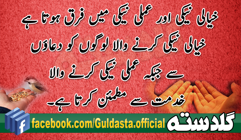 essay on khidmat-e-khalq in urdu